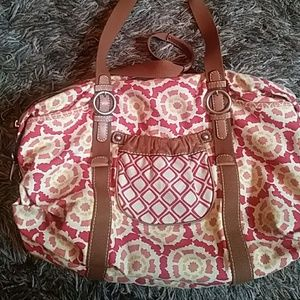 Fossil duffle bag
